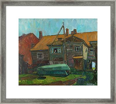 Rhythms Of The Old Yard Framed Print