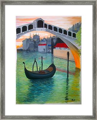 Rialto Framed Print by Andrew Cravello