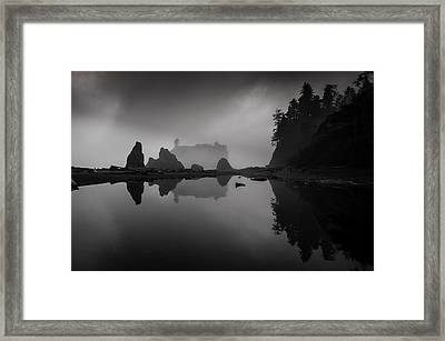 Rialto Beach Framed Print by Jean-Jacques Thebault