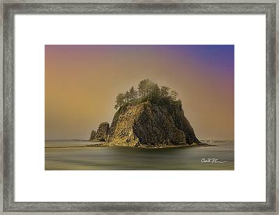 Rialto Beach - Little James Island Framed Print