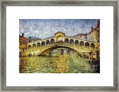 Rialto Framed Print by Mo T