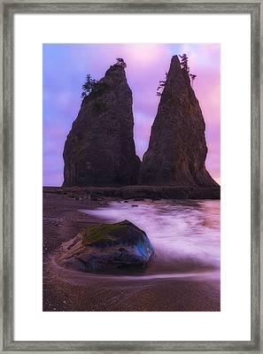 Rialto Monoliths Framed Print by Ryan Manuel