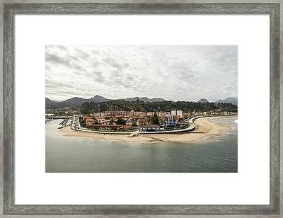 Ribadesella Framed Print by For Ninety One Days