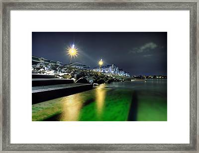 Green Waters Framed Print by EXparte SE