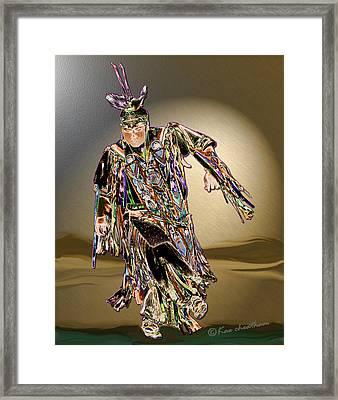 Ribbon Dancer Framed Print by Kae Cheatham