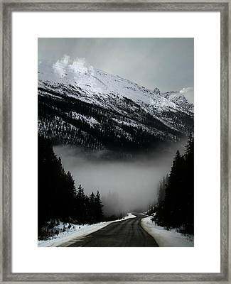 Ribbon Of Highway Framed Print by Shirley Sirois