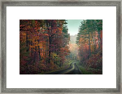 Ribbon Road Framed Print by William Schmid