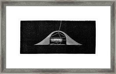 Ribbon Weaving Framed Print