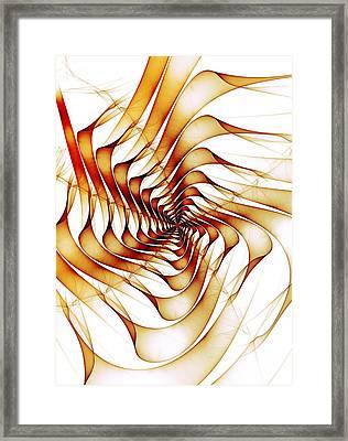 Ribbons Framed Print by Anastasiya Malakhova