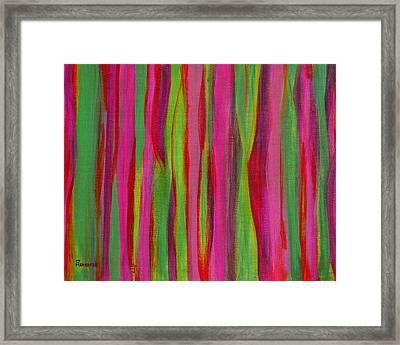 Ribbons Framed Print