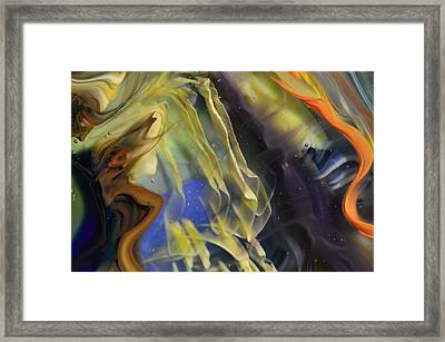 Ribbons In The Sky Framed Print