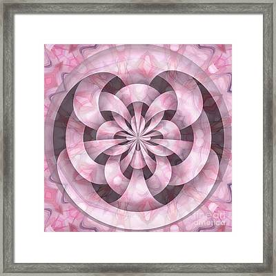 Ribbons Framed Print by Peggy Hughes