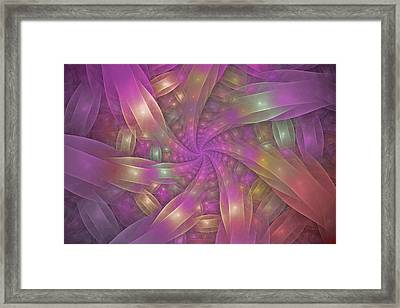 Ribbons Framed Print