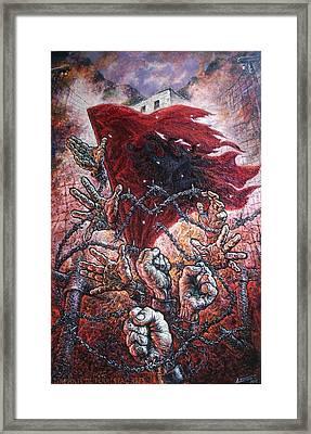 Ribellion On Infern Framed Print by Lazar Taci