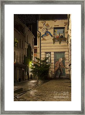 Ric Hochet Framed Print