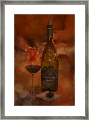 Rich And Luscious Framed Print