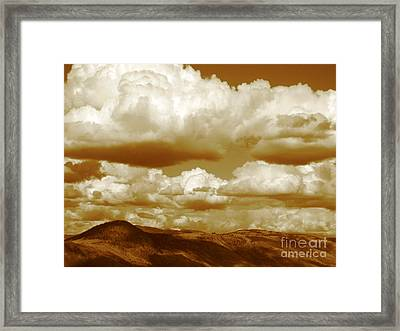 Framed Print featuring the photograph Rich Moment by Kathy Bassett