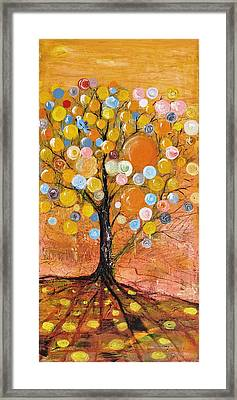 Rich Tree Framed Print by Evelina Popilian