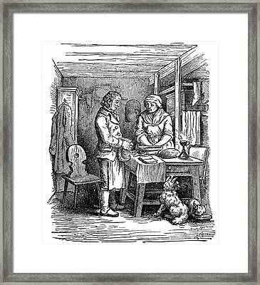 Richard Arkwright Framed Print by Universal History Archive/uig