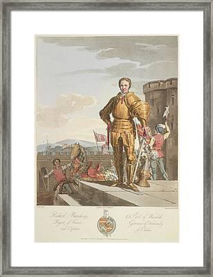 Richard Beauchamp Framed Print by British Library
