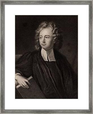 Richard Bentley Framed Print