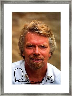 Richard Branson Framed Print