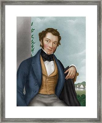 Richard Cobden Framed Print by Maria Platt-evans