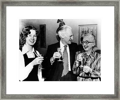 Richard Doll Framed Print by National Cancer Institute