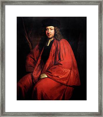Richard Hale Framed Print by Bodleian Museum/oxford University Images