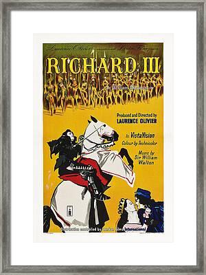 Richard IIi, British Poster Art, 1955 Framed Print by Everett