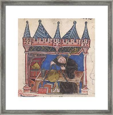 Richard Of Wallingford Framed Print