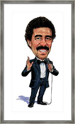 Richard Pryor Framed Print by Art