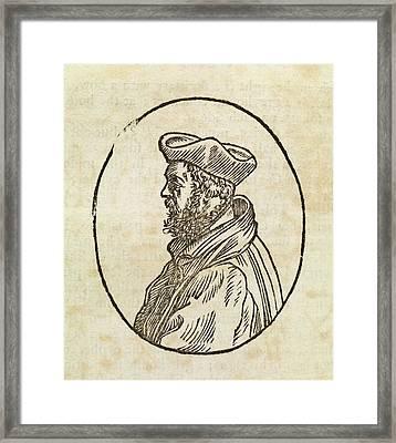 Richard Pynson Framed Print