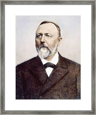 Richard Von Krafft-ebing (1840-1902) Framed Print by Granger