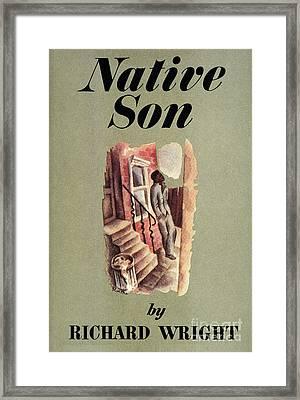 Richard Wright: Native Son Framed Print by Granger