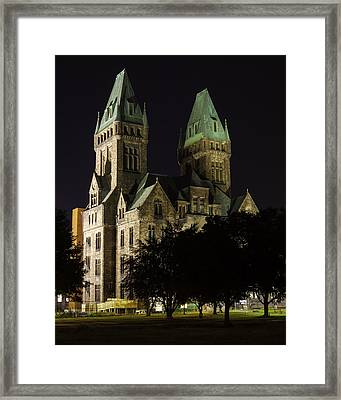 Richardson Olmsted Complex From The Lawn Framed Print by Don Nieman