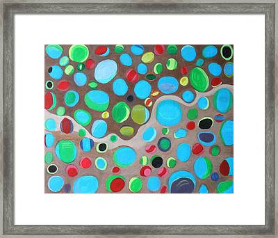 Riches Of People On Earth  Framed Print by Lorna Maza
