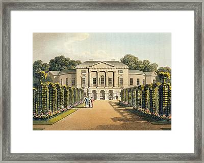 Richmond Park Framed Print by Humphry Repton