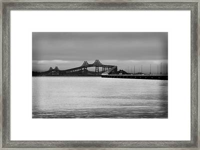 Richmond San Rafael Bridge Framed Print