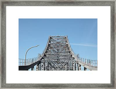 Richmond-san Rafael Bridge In California - 5d21449 Framed Print