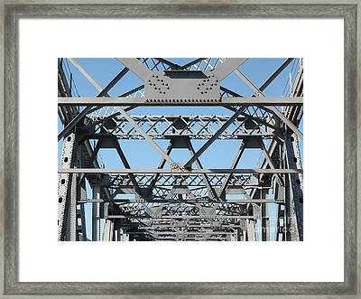 Richmond-san Rafael Bridge In California - 5d21453 Framed Print