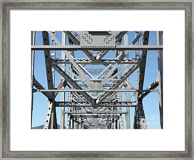 Richmond-san Rafael Bridge In California - 5d21459 Framed Print