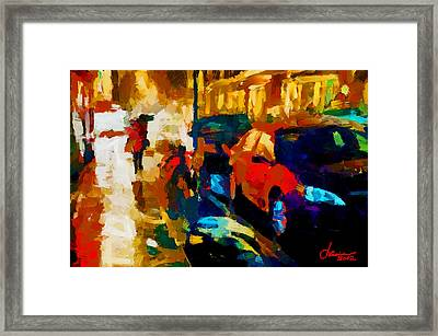 Richmond Street Tnm Framed Print by Vincent DiNovici