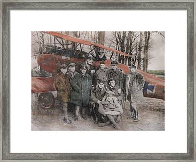 Richthofen And His Flying Circus Framed Print by Vikram Singh