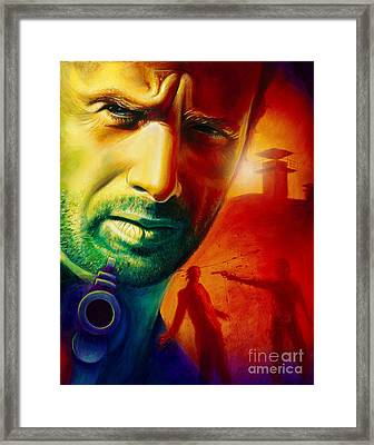 Rick Grimes Framed Print by Scott Spillman