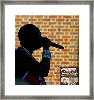 Rick The Ruler Framed Print