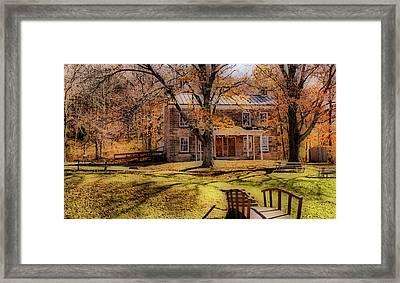 Rickenbaugh House Framed Print by Sandy Keeton