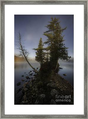Rickers Pond - Groton State Forest Vermont Framed Print by Thomas Schoeller