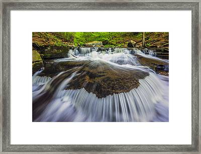 Rivers Run Framed Print by Mike Lang