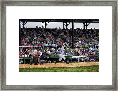 Rickwood Ballpark In Birmingham Framed Print